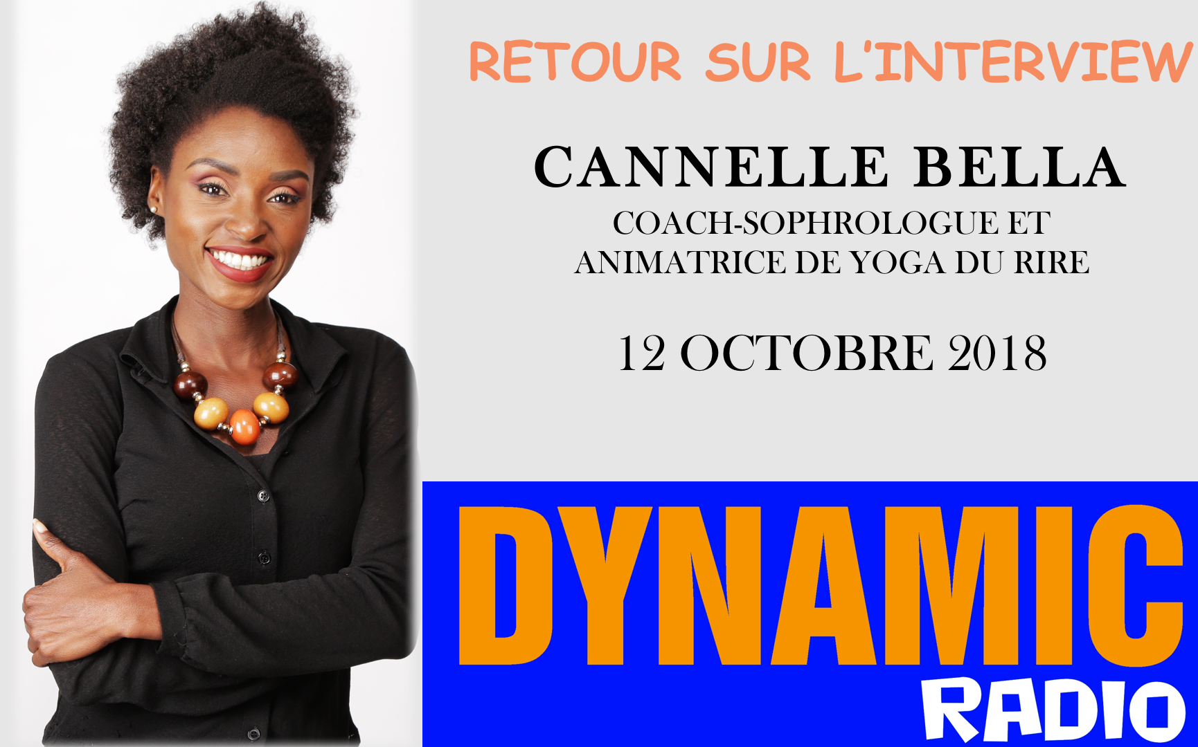 INTERVIEW RADIO - CANNELLE BELLA COACH-SOPHROLOGUE